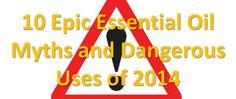 Don't put lavender oil in your mascara! Read: 10 Epic Essential Oil Myths and Dangerous Uses of 2014