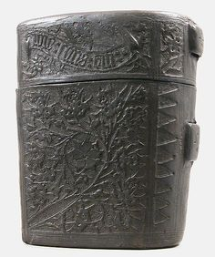 Case, Missal Date: 15th century Culture: French Medium: Cuir bouilli (tooled leather) Dimensions: Overall: 8 1/4 x 7 x 4 3/4 in. (21 x 17.8 x 12.1 cm)