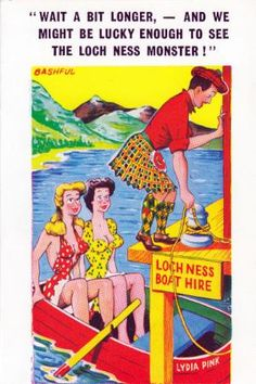 "Postcards of the Past - Vintage Comic ""Seaside"" Postcards (2)"