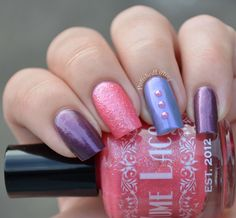 Yume Lacquer Pink Lady, Time Distortion and Silent Ruin