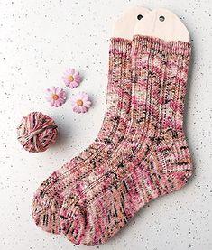 Knitting Patterns Modern Ravelry: Spring Stream Socks pattern by Life Is Cozy Knitted Socks Free Pattern, Crochet Socks, Knitting Socks, Hand Knitting, Knitting Patterns, Knit Socks, Knitted Slippers, Knitting Tutorials, Stitch Patterns