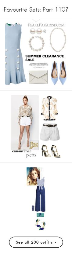 """Favourite Sets: Part 110❣"" by moon-and-starss ❤ liked on Polyvore featuring Dolce&Gabbana, Steve Madden, Rebecca Minkoff, Jennifer Lopez, LE3NO, Ganni, Tom Ford, JLo by Jennifer Lopez, Casadei and Sea, New York"