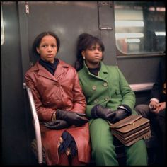 Shooting Film: Unseen Colour Photos of NYC Subway Commuters in 1966 by Danny Lyon Artistic Photography, Vintage Photography, Film Photography, Street Photography, Rainbow Photography, Colour Photography, Photography Backgrounds, Black Photography, Minimalist Photography