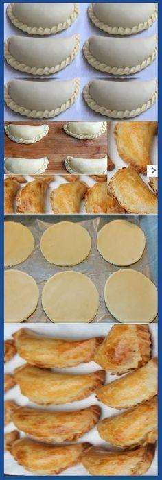 Empanadas para hornear