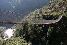 I dieci peggiori ponti sospesi al mondo. Foto-classifica - Gallery - Foto - Virgilio Viaggi