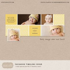 Facebook timeline cover template chevron photos by OtoStudio