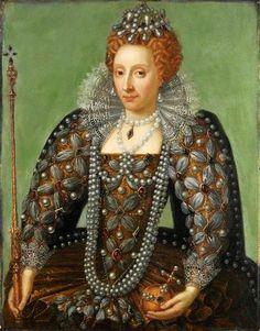 1600+ Queen Elizabeth I 1533-1603 Unknown Artist