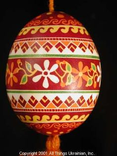 Ukrainian Easter Egg Pysanky 01-126  by Iryna Vakh  from the Lviv  on AllThingsUkrainian.com