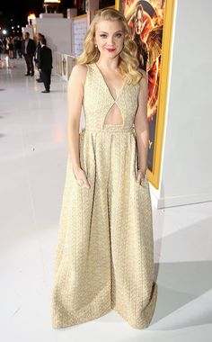 Natalie Dormer at the #TheHungerGames: Mockingjay premiere in L.A.