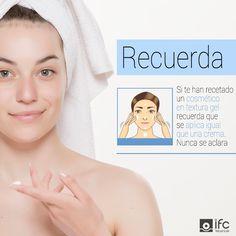 Para un óptimo rendimiento en tu tratamiento antiedad, recuerda que un cosmético en textura gel se aplica igual que una crema, no aclares con agua.