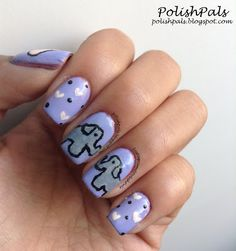 E is for Elephant Nails