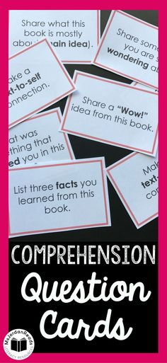 Comprehension Questi