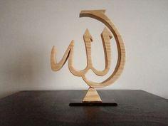 Baki Büyükzincir. Wooden Wall Art, Wood Art, Arabic Calligraphy Art, Wood Burning Patterns, Wall Shelves Design, Islamic Wall Art, Scroll Saw Patterns, Metal Art, Wood Crafts