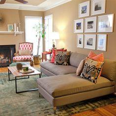 Home Decorating: Read for 5 Cheap family room decorating ideas! #design #decor #interiordesign