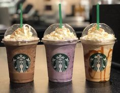 Starbucks Uk, Starbucks Secret Menu, Starbucks Drinks, Cotton Candy Frappuccino, Ice Caramel Macchiato, Cinnamon Toast Crunch, Popsugar Food, Weird Food, Crazy Food