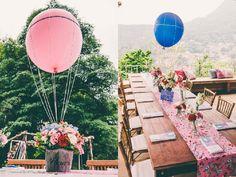 Balloons centerpieces