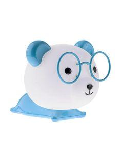 SMARTY BEAR Redo - stolová detská LED lampa - modro-biela