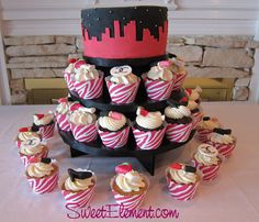 Sex and the city cup cakes