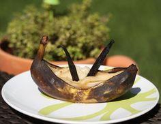 Gegrillte Marzipanbanane - Rezept - ichkoche.at