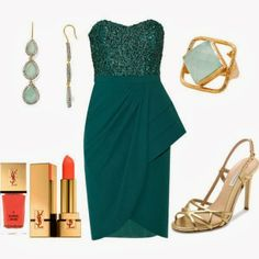 New Year's Eve wear-Gorgeous! [If I were going to a special event--that is]