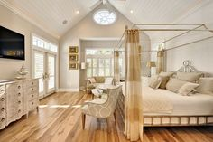 Neutral colors Master Bedroom.