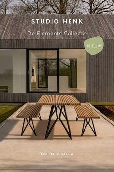 Studio HENK is een designstudio uit Amsterdam met een collectie hoogwaardige meubels die je naar wens kunt samenstellen. Ons designteam wordt geïnspireerd door het leven van alledag en de wereld om ons heen. Duurzaamheid vormt dan ook de rode draad in alles wat wij doen. Stel jouw droommeubel samen en bestel vandaag nog online of in een van onze winkels. Welded Furniture, Garden Furniture, Diy Furniture, Furniture Design, Outdoor Furniture, Garden Design, House Design, Bungalow House Plans, Garden Seating