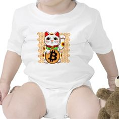 Bitcoin Maneki Neko Lucky Cat 04 Baby Creeper. Bitcoin, you can be your own bank. High resolution Bitcoin logo design just for you. Spread the word of Bitcoin, Vires in Numeris, Strength in Number people's choice crypto currency technology.