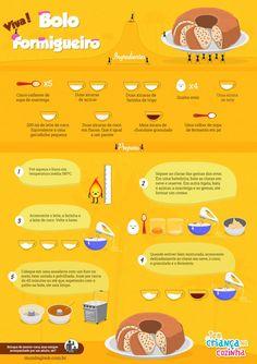 Bolo Formigueiro - Tem Criança na Cozinha | Mundo Gloob