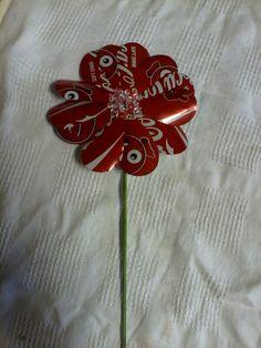 Coke Can Flower