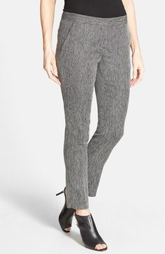 Vince Camuto Herringbone Slim Ankle Pants available at #Nordstrom