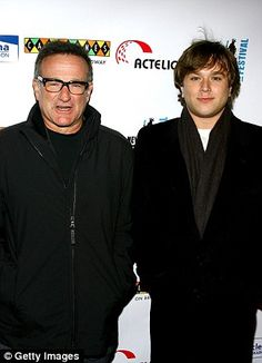 2352a5d9ae Loss  Robin Williams with his son Cody Williams (pictured in 2007) Cody  Williams