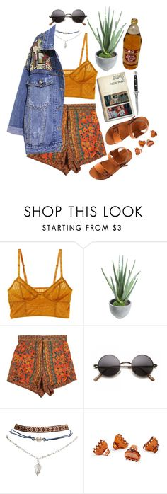 """""""vibes and stuff (tag)"""" by celluloid ❤ liked on Polyvore featuring Intimately Free People, Alöe, StyleNanda, Wet Seal, Switchblade Stiletto, H&M and Retrò"""