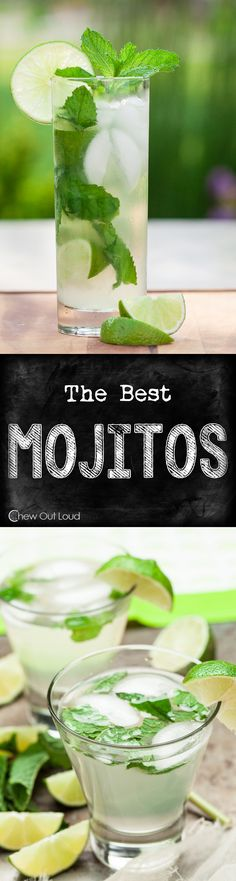 If you're going to drink Mojitos, have it done right, right? Refreshing, limey…