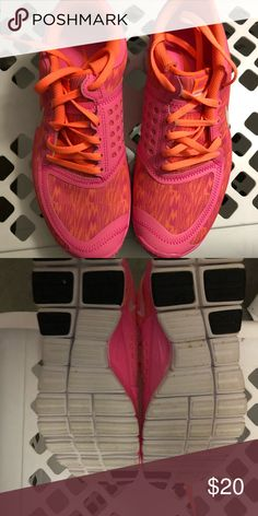 Nike Free 5.0. Woman's size 8 Great condition. Only worn a few times. Woman's size 8 Nike size 8 Free 5.0. Orange and pink colors.  No box. Nike Shoes Athletic Shoes