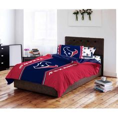 New England Patriots Bedding Set NFL Football Full Bed In Bag Comforter  Sheets | New England Patriots, Bedding Sets And Bed In