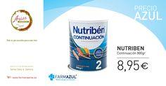 Nutribén es una #leche de continuación completa y adecuada para el #bebé a partir de 6 meses, tiene además un agradable sabor y se disuelve fácilmete. Aprovecha nuestra #promoción.