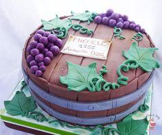 Barrel Cake Torta Vendemmia Botte
