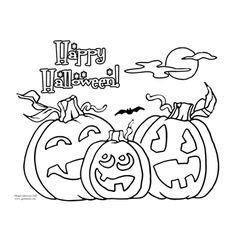 Halloween Coloring Page Printable Fun Paper Craft pumpkin Halloween Drawings, Halloween Images, Halloween Crafts For Kids, Halloween Decorations, Coloring Pages To Print, Coloring Pages For Kids, Halloween Coloring Pages Printable, Printable Crafts, Printables