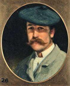 Self Portrait Joseph Farquharson ARA (1846 - 1935) ---Aberdeen Art Gallery
