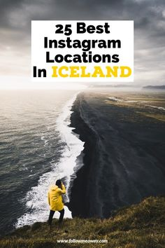 If you are taking an Iceland photography road trip, you are going to want to visit some of the best Instagram locations in Iceland for epic photos! The best places for photography in Iceland can be found all around the Ring Road in Iceland so you will find something for everyone! #iceland #icelandic #instagram #instagramphoto #landscapephotograp