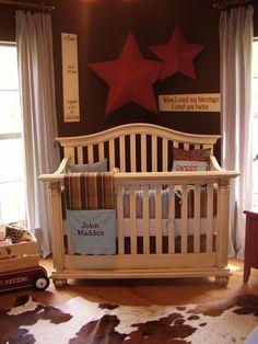 Nursery....its kinda cowboy-ish...i like that....
