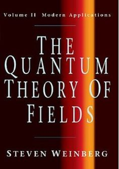 The quantum theory of fields. Voume II: Modern applications / Steven Weinberg