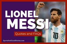 33+ Lionel Messi Quotes and FAQs To Learn More About the Soccer Star. #soccer #futbol #Messi Soccer Practice Plans, Lionel Messi Quotes, Messi Vs, Club World Cup, Soccer Coaching, Youth Soccer, Soccer Stars, Uefa Champions League, Fifa World Cup