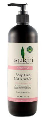 NEW Sensitive Soap Free Body Wash (500ml) - Sensitive - Sukin Australian Natural Skincare products, Best Natural Skincare
