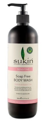 NEW Sensitive Soap Free Body Wash (500ml) - Sensitive - Sukin Australian Natural Skincare products, Best Natural Skincare