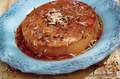 Toasted Coconut Rum Flan via Rum Recipes, Coconut Recipes, Mexican Food Recipes, Dessert Recipes, Spanish Desserts, Fancy Desserts, Delicious Desserts, Yummy Food, Coconut Flan