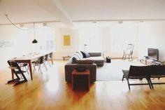 Blue Vintage: Un apartamento en Amsterdam
