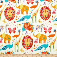 Michael Miller Origami Oasis Pride Candy from @fabricdotcom  Designed by Tamara Kate for Michael Miller, this cotton print fabric is perfect for quilting, apparel and home decor accents. Colors include pink, orange, white, aqua, blue, turquoise and brown.