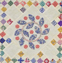 detail from Afternoon Delight quilt by Marsha - featured on Sue Garman blog