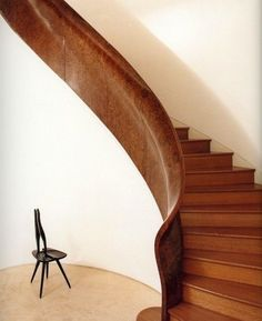 Professionals in staircase design, construction and stairs installation. In addition EeStairs offers design services on stairs and balustrades. Interior Stairs, Interior And Exterior, Architecture Details, Interior Architecture, Stair Ladder, Stair Steps, Vogue Living, Stairway To Heaven, Staircase Design